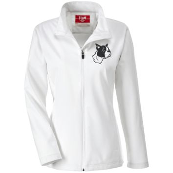 Boston Terrier Embroidered Lightweight Jacket