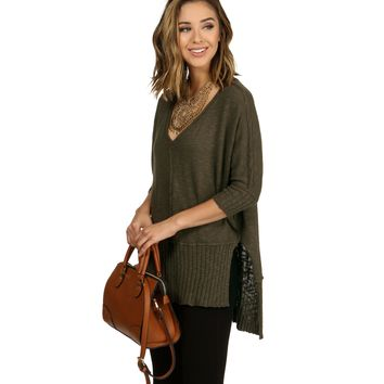 Olive Other Side Sweater