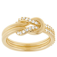 Jewelry & Accessories | Rings | Voile Gold Tone and Crystal Knot Ring | Lord and Taylor