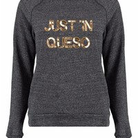 Bow & Drape 'Just In Queso' Sweatshirt | Nordstrom