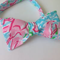 Lilly Pulitzer Bow Tie