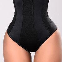 Ayesha High Waist Shaping Brief - Black