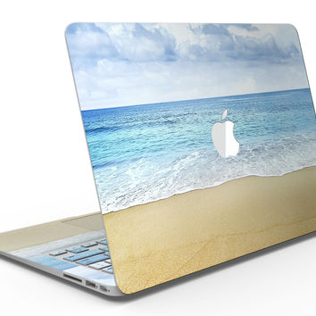 Calm Blue Sky and Sea Shore - MacBook Air Skin Kit