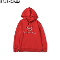 Fashion Balenciaga shirt men's and women's sweaters luxury brand casual high quality