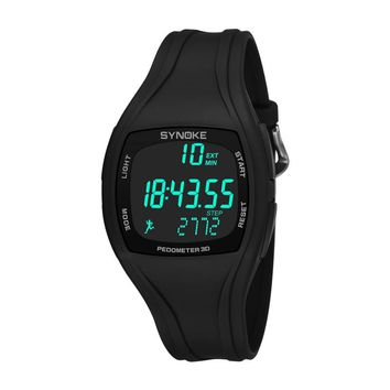 Multifunctional Men Sports Watch 30M Waterproof Luminous Digital Sports Wristwatches Alarm Clock