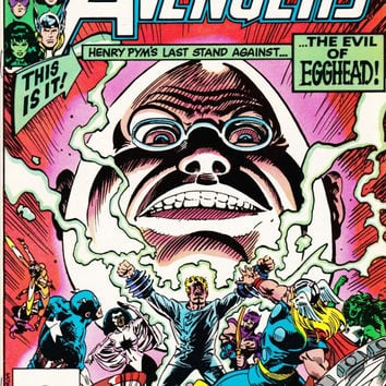 Vintage The Avengers Comic Book #229 March 1983 Marvel Comics