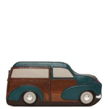 Kate Spade New York Knock On Wood Car Clutch
