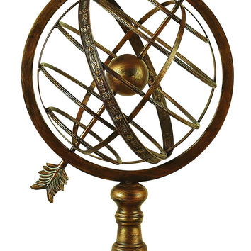 METAL ARMILLARY SPHERE INTRODUCED RECENTLY