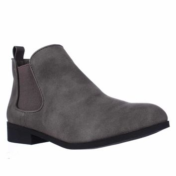 AR35 Desyre Chelsea Ankle Boots, Charcoal, 5 US