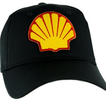 Shell Gas Station Hat Baseball Cap Alternative Clothing 90's Grunge