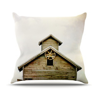 "Angie Turner ""Barn Top"" Throw Pillow, 16"" x 16"" - Outlet Item"