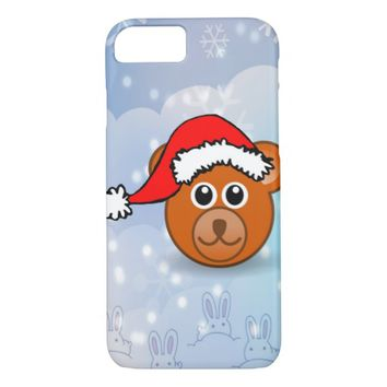 Christmas Bear iPhone 7 Case