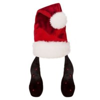 Light-Up Adult Goofy Ears Santa Hat | Hats, Gloves & Scarves | Disney Store