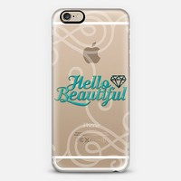 Hello Beautiful 03 iPhone 6 case by Tracey Coon | Casetify
