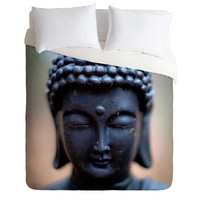 Bird Wanna Whistle Buddha Duvet Cover