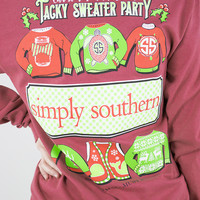 Christmas In The South Long Sleeve Tee | Simply Southern