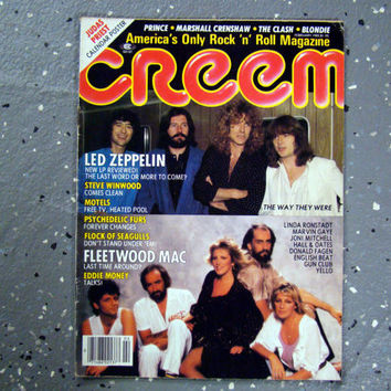 Led Zeppelin/Fleetwood Mac - Creem Magazine - February 1983