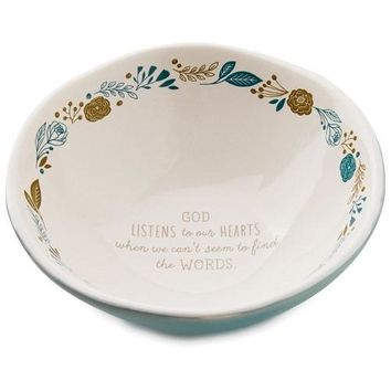 God Listens Trinket Dish, 5""