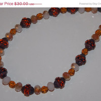 33%OFF Topaz Brown Necklace