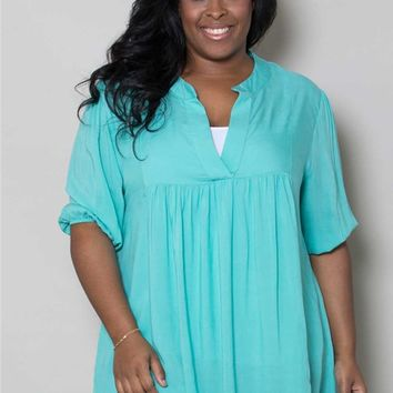 Plus Size Tops | Emmylou Tunic | Swakdesigns.com