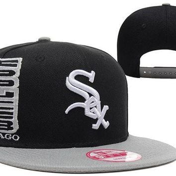 CREY8KY Chicago White Sox 9FIFTY MLB Baseball Hat Black
