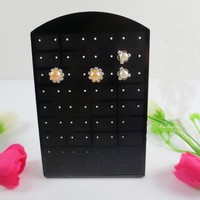 Jewelry Holders 72 Holes earrings Plastic Display Organizer
