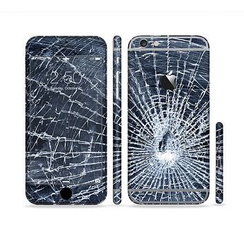 The Shattered Glass Sectioned Skin Series for the Apple iPhone 6 Plus