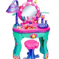 Disney Princess Ariel Little Mermaid Magical Talking Salon & Vanity