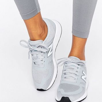 New Balance 420 Micro Mesh Trainers In Grey at asos.com