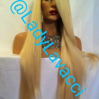 Loretta 24 Inch Custom Colored Full Closure Wig