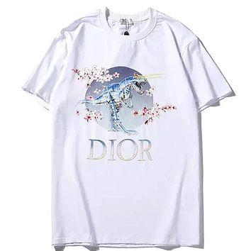 453e1bb34 DIOR AND SORAYAMA Tide brand chest embellished dinosaur / cherry. Item  Type: Clothing ...