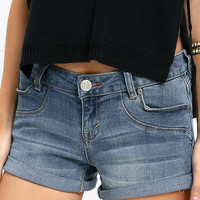 Dittos Nicola Medium Wash Denim Shorts
