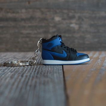Air Jordan 1 Royal Mini Sneaker Key Chain