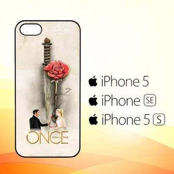 Once Upon A Time Rose X3423  iPhone 5|5S|SE Case