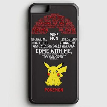 Pokemon Pokedex Pikacu iPhone 6 Plus/6S Plus Case | casescraft