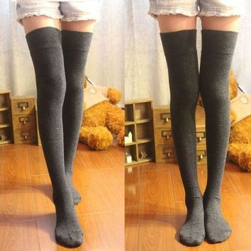 LMFHT3 Thigh High Socks Overknee Stockings Girl's Hosiery From DEAL REAL