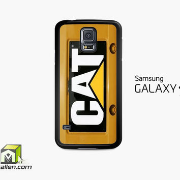Cat Caterpillar Samsung Galaxy S5 Case Cover by Avallen