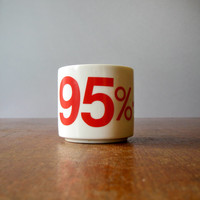 Vintage Mug for Typography Lovers - Helevetica Style 95%