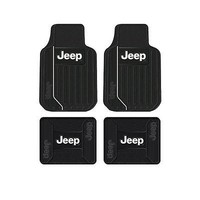 Licensed Official New Jeep Elite Car Truck Front Back Floor Mat / License Plate Frame / Seat Cover