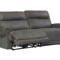 Austere Power Reclining Loveseat with Console | Ashley Furniture HomeStore
