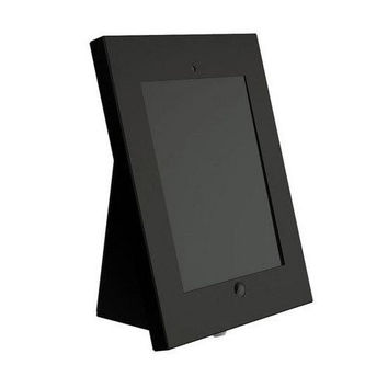 Universal Tamper-Proof Anti-Theft iPad Kiosk Multi-Mount Stand Holder (Fits All 2nd, 3rd, 4th and Air Generation iPads) Can be Mounted on Walls, Tables, Desks, etc.