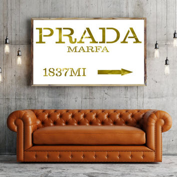 shop prada poster on wanelo. Black Bedroom Furniture Sets. Home Design Ideas