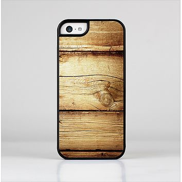 The Old Bolted Wooden Planks Skin-Sert Case for the Apple iPhone 5c