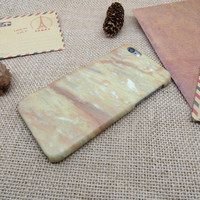 Realistic marble phone case for iphone 5 5s SE 6 6s 6 plus 6s plus + Nice gift box 072601