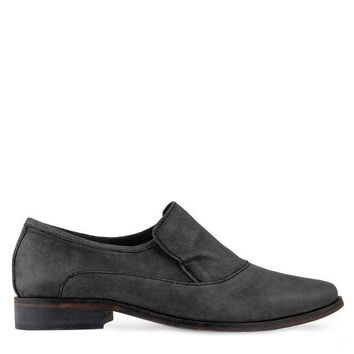 DCCKH2N Free People Brady Slip-On Loafer Women's - Carbon Black
