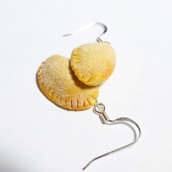 Empanada Earrings