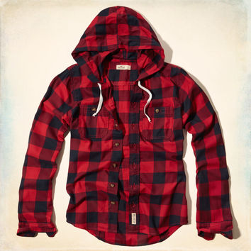 Hidden Hills Hooded Shirt