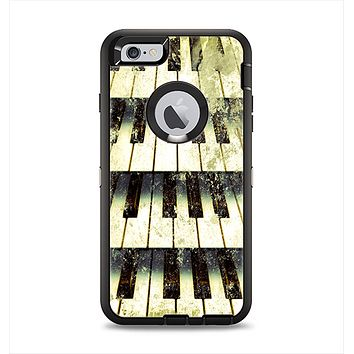 The Vintage Pianos Keys Apple iPhone 6 Plus Otterbox Defender Case Skin Set