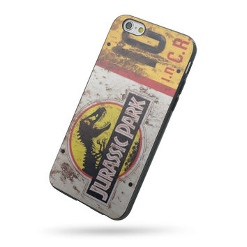 Jurassic Park License Plate Jeep for iPhone 5c