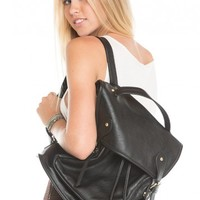 Brandy ♥ Melville |  Buckle Knapsack Backpack - Accessories